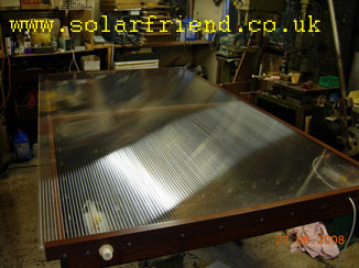 ** FINISHED SOLAR PANEL **