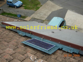 DIY solar Hot Water System build your own